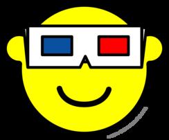 3D bril buddy icon