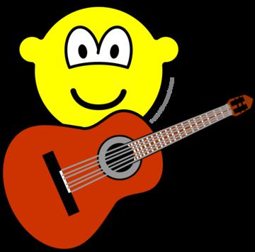 Akoestische gitaar buddy icon