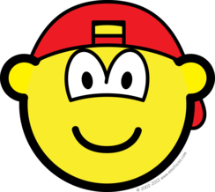 Achterwaardse cap buddy icon