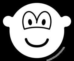 Zwart en wit buddy icon