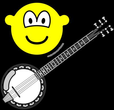 Banjo bespelende buddy icon