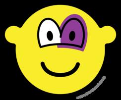 Blauw oog buddy icon
