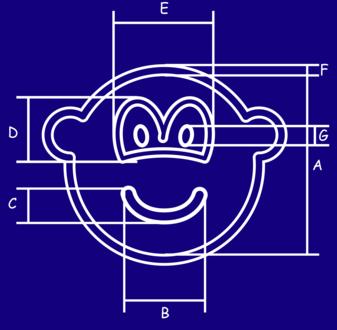 Blauwdruk buddy icon