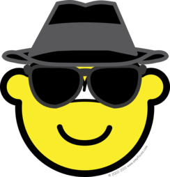 Blues brother buddy icon