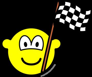 Geblokte vlag buddy icon