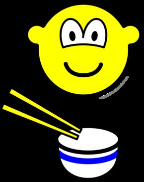 Chop sticks buddy icon