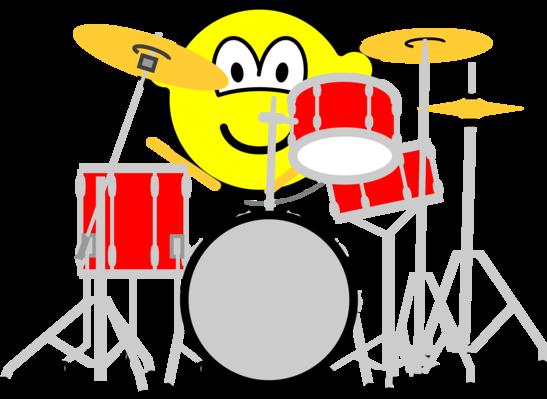 Drummende buddy icon