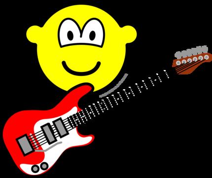 Electrische gitaar buddy icon