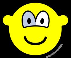 Glazen oog buddy icon