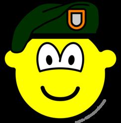 Green beret buddy icon