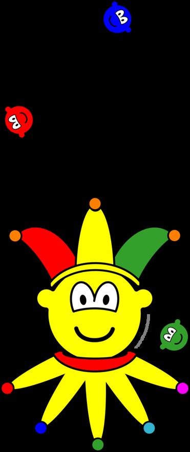 Jonglerende buddy icon