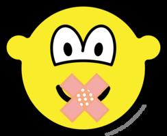 Zwijgende buddy icon