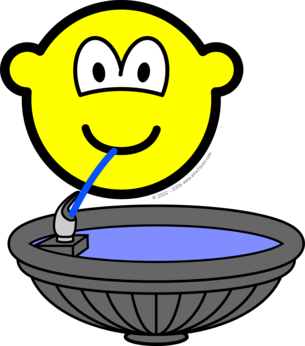 Water fontein buddy icon