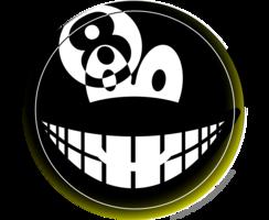Achtbal emoticon