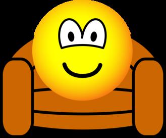 Luie stoel emoticon emoticons for Luie stoel