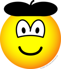 Baret emoticon
