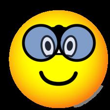 Verrekijker emoticon