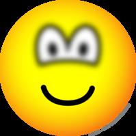 Blurry eyed emoticon