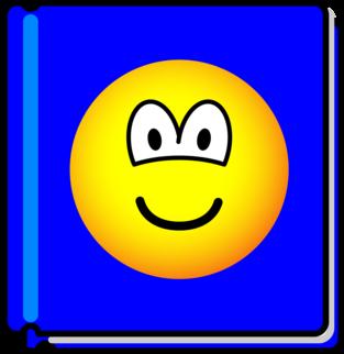 Boek emoticon