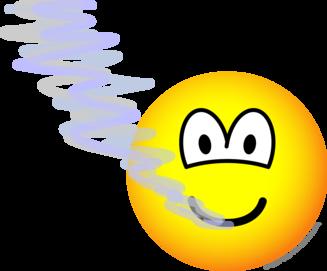 Adem wolk emoticon