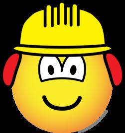 Bouwvakker emoticon