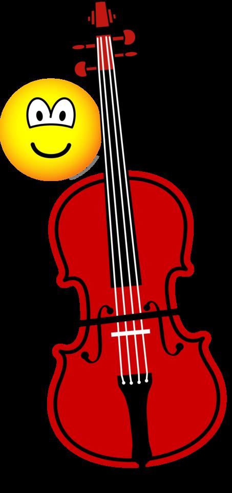 Contra bas spelende emoticon