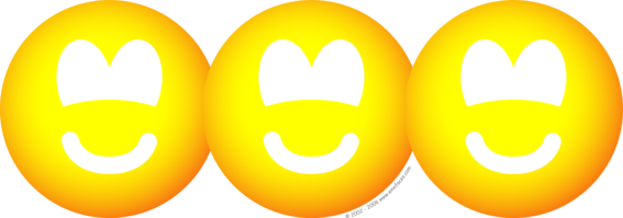 Uitgeknipte emoticons