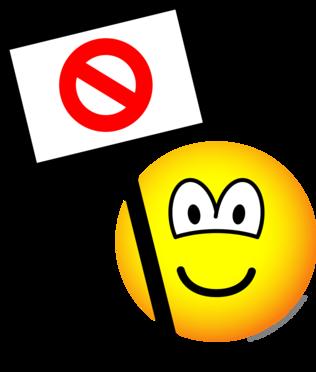 Demonstrant emoticon