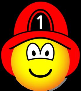 Brandweerman emoticon