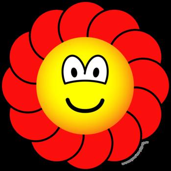 Bloem emoticon