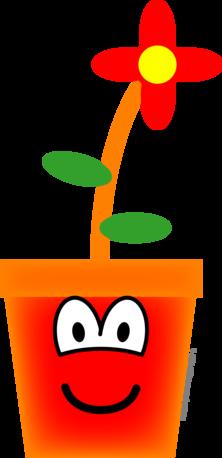 Bloempot emoticon