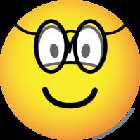 Bril emoticon