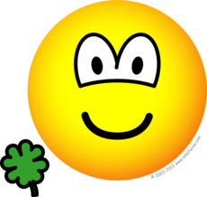 Geluksklavertjevier emoticon