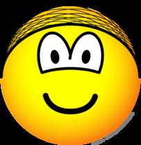 Hairnet emoticon