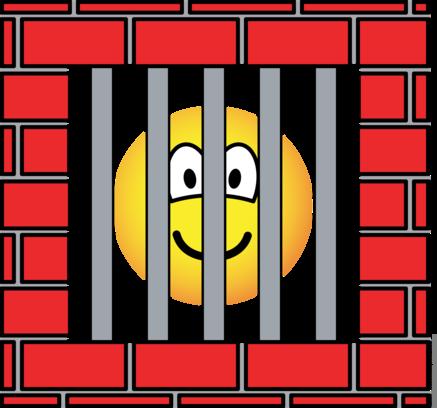 Gevangen emoticon