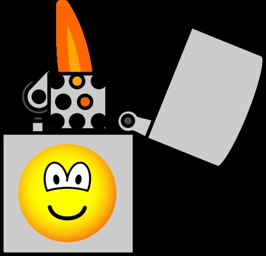 Aansteker emoticon