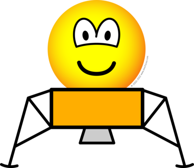 Maanlander emoticon