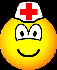 Verpleeger emoticon