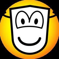 Gemaskerde emoticon