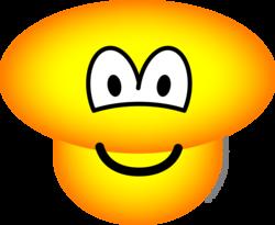 Paddestoel emoticon