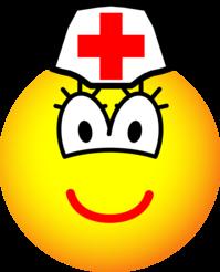 Verpleegster emoticon