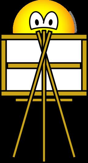 Schilder emoticon