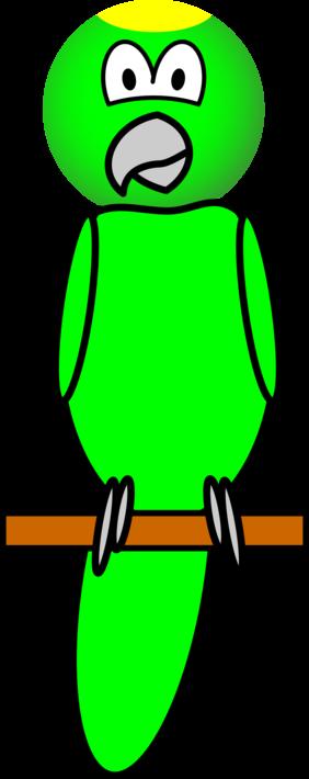 Papegaai emoticon