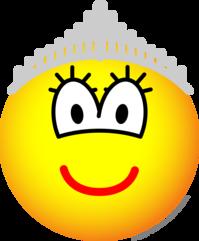 Koningin emoticon