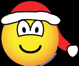 Kerstmanmuts emoticon