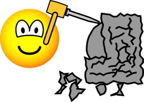 Beeldhouwer emoticon