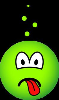 Zieke emoticon
