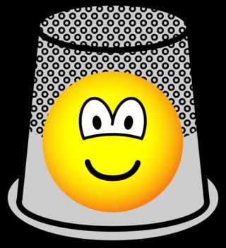 Vingerhoed emoticon