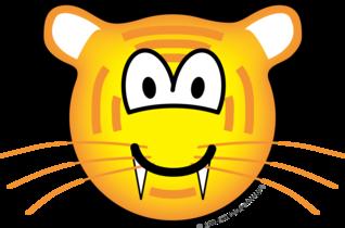 Tijger emoticon