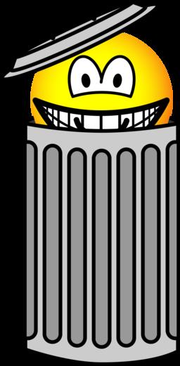Vuilnisbak emoticon